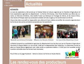 La Gazette d'automne 2016